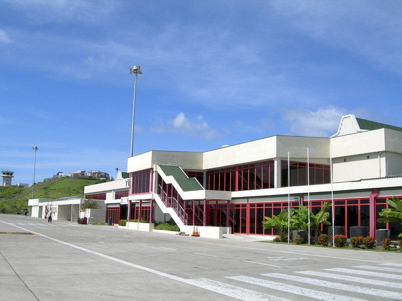 Grenada Airport has a single passenger terminal.